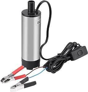 Luxtech Wasserpumpe 12v Tauchpumpe Durchmesser 3 8cm Pumpe Übertragung Wasser Diesel Siphon Kerosin Für Auto Motorrad Baumarkt