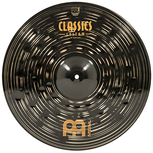 Meinl Cymbals CC18DAC Classics Custom Dark 45,7 cm (18 Zoll) Crash Becken (Meinl Classics Custom)