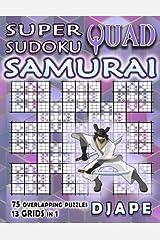Super Quad Sudoku Samurai Taschenbuch