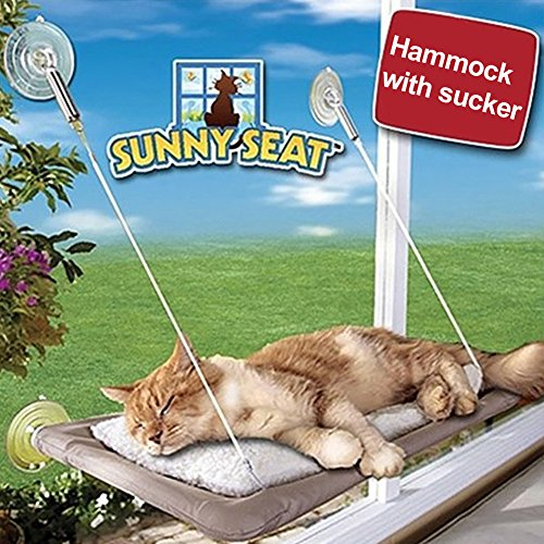 Tookie Hammock for cat with window, for perch, for sun seat