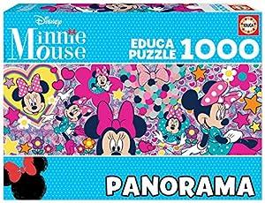 Educa Borras Puzzle Minnie Mouse Panorama 1000 Piezas (17991)