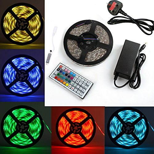 niceker-5050-led-strip-lights-164ft-5m-flexible-5050-rgb-led-light-with-mini-44key-led-controller-an