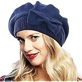 Ruphedy Donna Lana Berretto Elegante Beanie Cappello Invernale HY022