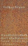 Image de Handbibliothek der Unbehausten: Neue Gedichte