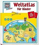 Junior Weltatlas für Kinder: Mit Länder-Memo und Entdecker-Klappen!