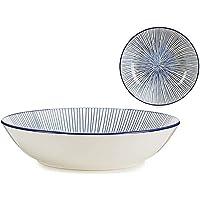 Assiette creuse Bleu Porcelaine (Ø 20 cm)