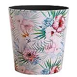 YVSoo Corbeille à Papier 10L Poubelle Decorative Corbeille Vintage pour Cuisine, Salon, Chambre, Bureau, Café
