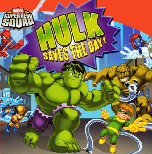 Hulk Saves The Day! (turtleback School & Library Binding Edition) (marvel Super Hero Squad (library)) By Chris Strathearn (2010-04-01) Picture