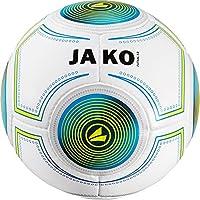 Jako Futsal 3.0Indoor Ballon de Football Blanc/Bleu/Vert Lime, 4