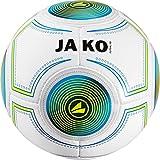 Jako Futsal 3.0Indoor Balón, color blanco/azul/verde, 4