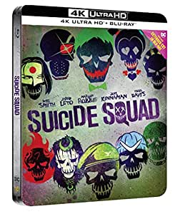 Suicide Squad - Steelbook (Esclusiva Amazon) (Collectors Edition) (Blu-Ray + 4K)