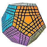 7x7x7 Magique Cube dodécaèdre Professionnel Rubik Cube Puzzle Jouet éducatif