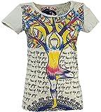 GURU-SHOP, Maglietta Specchio, Yoga/Beige, Cotone, Dimensione Indumenti:S (36), Certo Che Le Camicie