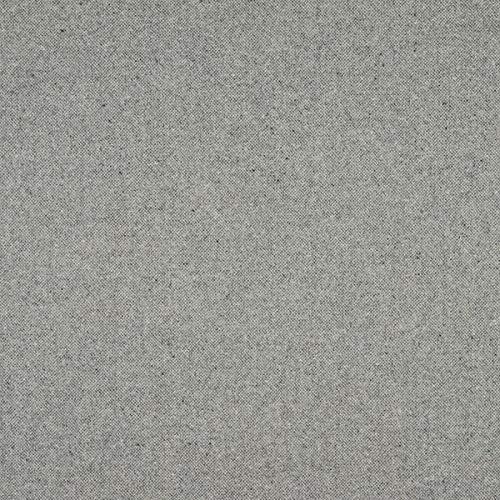 englisch dekor Tela para Muebles de decoración Inglesa, ignífuga, Tejido de tapicería Gris de Lana Highland, Tejido Acolchado para Coser, Lana Virgen, Aislamiento acústico
