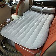 Sinbide Camping Luftmatratze selbstaufblasbare Luftmatratze aufblasbares Gästebett Bett Luftmatratze Isomatte Auto SUV MVP mit Pumpe
