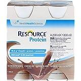 Resource - Bebida proteína de vainilla, 4 unidades de 200 ml ...