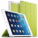 EasyAcc iPad Air Hülle, Ultra Slim iPad Air Hülle Case Cover Schutzhülle Bumper Lederhülle mit Standfunktion/Auto Sleep Wake up für iPad Air 2013 (Modellnummer A1474 A1475 A1476) - Grün, Ultra Slim