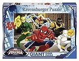 Ravensburger 05439 - Ultimate Spiderman Giant Floor Puzzle, 24 Pezzi