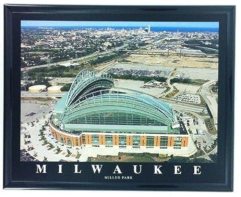 Cadre de Baseball MLB Milwaukee brasserie Art mural F7563A antenne