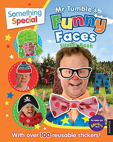 Image of Something Special: Mr Tumble's Funny Faces Sticker Book