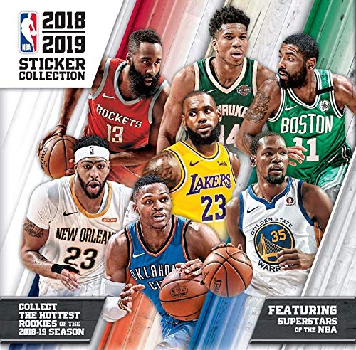 ddd4daca0c499 2018 2019 Panini NBA Basketball Sticker Collection Factory Sealed Unopened  Box of 50 Packs Containing 250 Total Stickers and Change for Rookies and ...