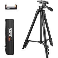 Treppiede, TACKLIFE MLT01 Treppiedi Flessibile Portatile 360 Gradi, Treppiedi Fotocamera, Treppiedi Livella Laser…