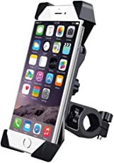 Rhobos Adjustable Anti Vibration Motorcycle Bike Holder for iPhone 7 Plus, Oppo F5 Mobile