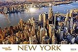 New York   2018: Großer Foto-Wandkalender mit Bildern aus der Metropole in den USA. Travel Edition mit Jahres-Wandplaner. PhotoArt Panorama Querformat: 58x39 cm - Korsch Verlag