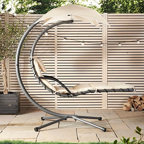 VonHaus Helicopter Dream Swing Lounger with Canopy