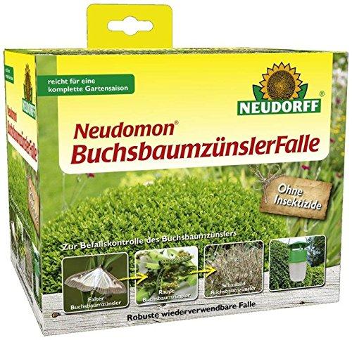 Neudorff Neudomon BuchsbaumzünslerFalle, biotechnisch mit Lockstoff, zur Minderung des Befalls, 1 Set