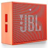 JBL Go Ultra Wireless Bluetooth Lautsprecher (3,5 mm AUX-Eingang, geeignet für Apple iOS und Android Smartphones, Tablets und MP3 geräten) orange