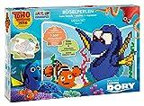 Craze 54568 - Rainbow Beadys Bügelperlen Mega Set Disney Pixar Findet Dorie, inklusiv Zubehör, 7500 Perlen, Blau