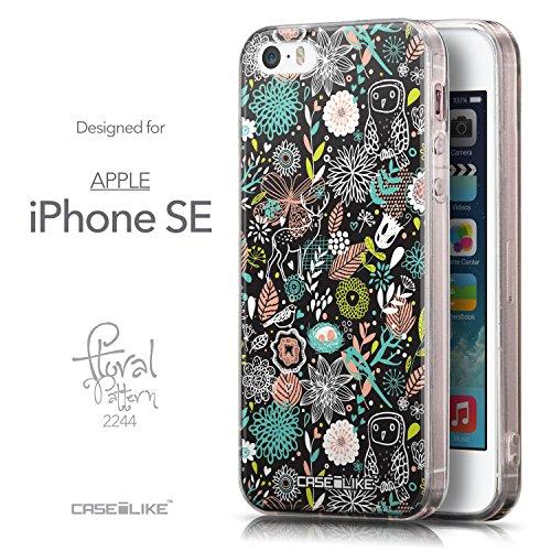 CASEiLIKE Comic Beschriftung Rosa 2912 Ultra Slim Back Hart Plastik Stoßstange Hülle Cover for Apple iPhone SE +Folie Displayschutzfolie +Eingabestift Touchstift (Zufällige Farbe) 2244