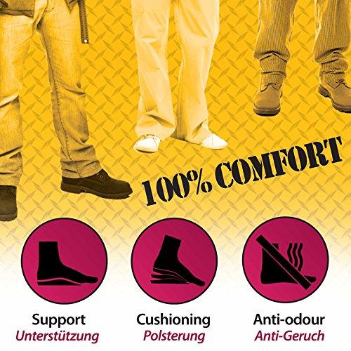 FootActive WORKMATE - Ideal für Alltag und Beruf - Schützt Ihre Füße auf harten Oberflächen - 44-46 (L) - 5
