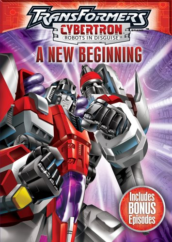 Transformers Cybertron - Robots in Disguise, A New Beginning (Transformers Dvd Cybertron)