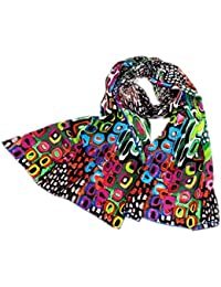 bb40fb8a4d2 Amazon.fr   Multicolore - Foulards   Echarpes et foulards   Vêtements