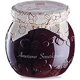 Menz&Gasser Edel Confettura Extra di Amarene 55%, con Frutta di Alta Qualità, 1 Vaso x 620 g