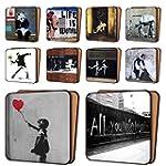 BANKSY Print Coasters Pack of 10 - NE...