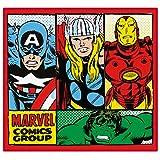 Disney Traditions Marvel Comics 'Retro' Teppich