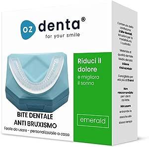 2 x Bite Dentale Notturno Automodellante Apparecchio anti Bruxismo - Digrignamento dei denti e disturbi dell' ATM ed Antirussamento