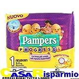 PAMPERS PANNOLINI PROGRESSI 1 NEWBORN 2-5 Kg 28 PZ.