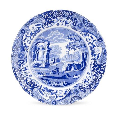 Spode Blue Italian Luncheon Plate, Set of 4 Luncheon Set