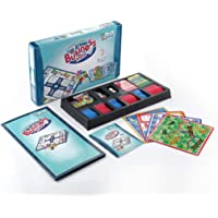 Dabster Fun Filled Business 5 in 1 Game with Plastic Money Coins Notes for Young Businessmen to Learn Trading and Other…