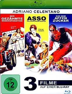 Gib dem Affen Zucker / Asso / Der gezähmte Widerspenstige / 3 Filme [Blu-ray]