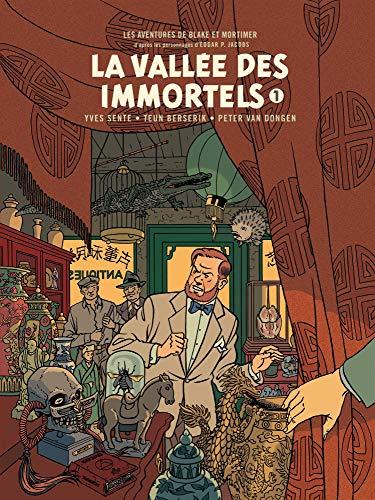 Blake & Mortimer - tome 25 - Vallée des Immortels (La) - Tome 1 - édition bibliophile par Sente Yves