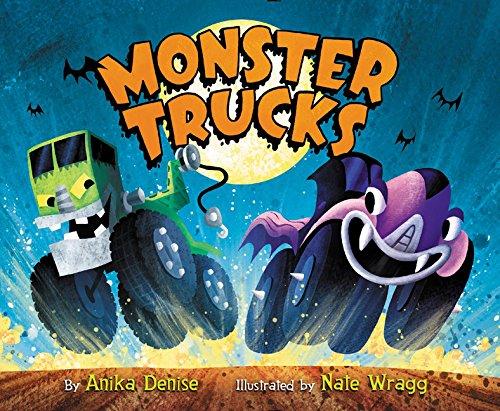 Monster Trucks Board Book (Monster Truck Board Book)