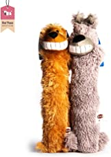 Trixie Longies, Plush dog toys