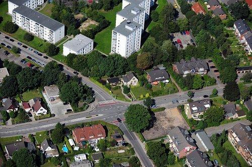 MF Matthias Friedel - Luftbildfotografie Luftbild von Seestraße in Halstenbek (Pinneberg), aufgenommen am 31.08.08 um 12:36 Uhr, Bildnummer: 5145-07, Auflösung: 4288x2848px = 12MP - Fotoabzug 50x75cm