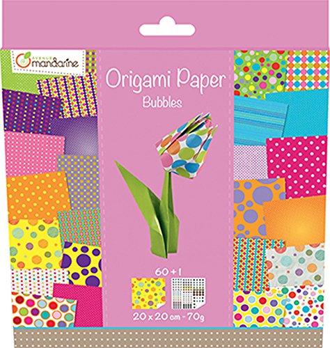 Origami Paper Bubbles, 20x20 Cm, 60f, 70g