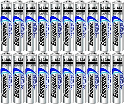 Electronics World Energizer Ultimate Lithium AAA Size Batteries - 20 Pack, Model: EN-L92-20PK, Gadget & Electronics Store Ultimate Lithium Batterien